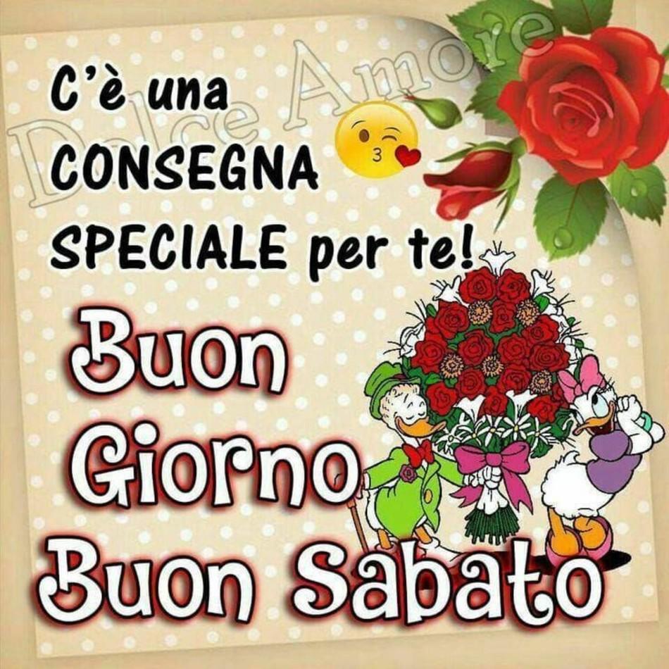 Belle immagini buon sabato rose rosse for Immagini divertenti buon sabato
