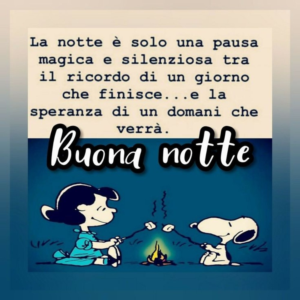 Belle Immagini Buonanotte Snoopy Buongiornocolsorriso It