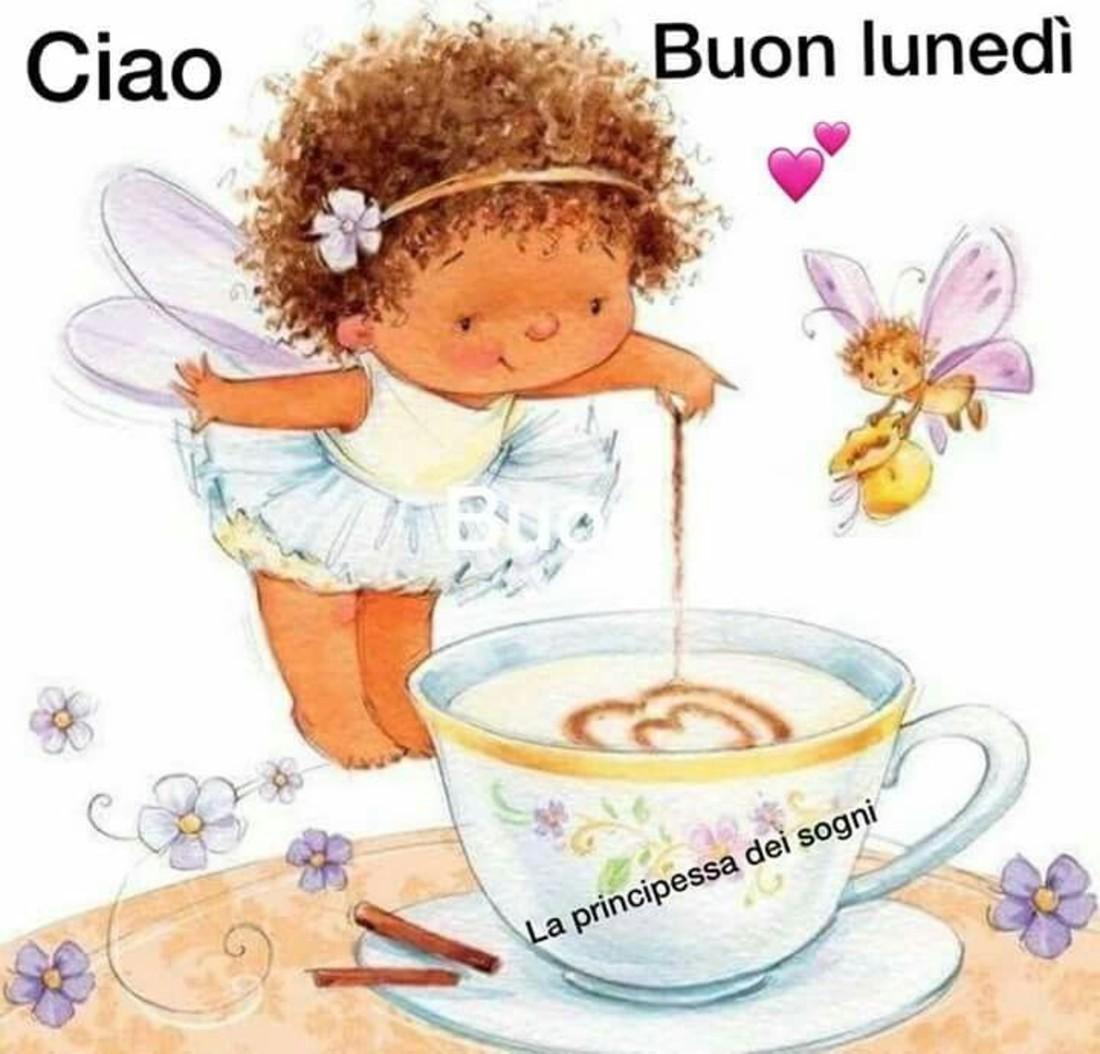 buon lunedi a tutti con caffè immagini