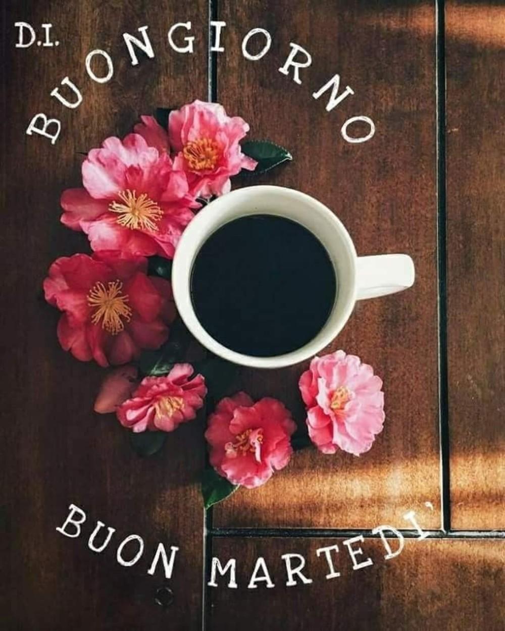 buon martedi immagini caffè