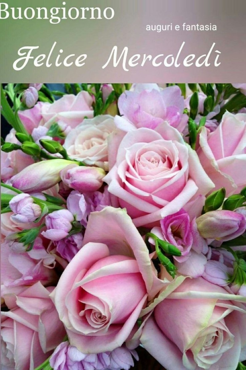 buon mercoledì immagini con fiori (1)