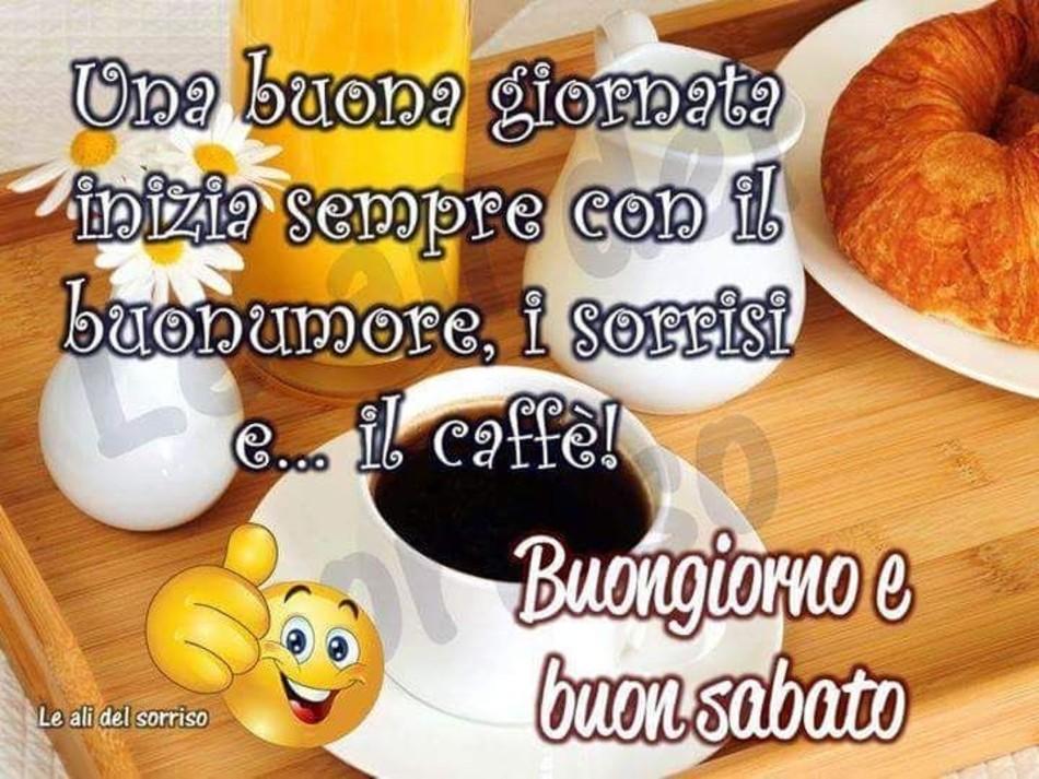 Buon Sabato Immagini Col Caffè Buongiornocolsorriso It