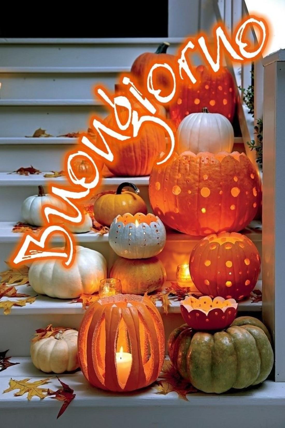 buongiorno autunno halloween