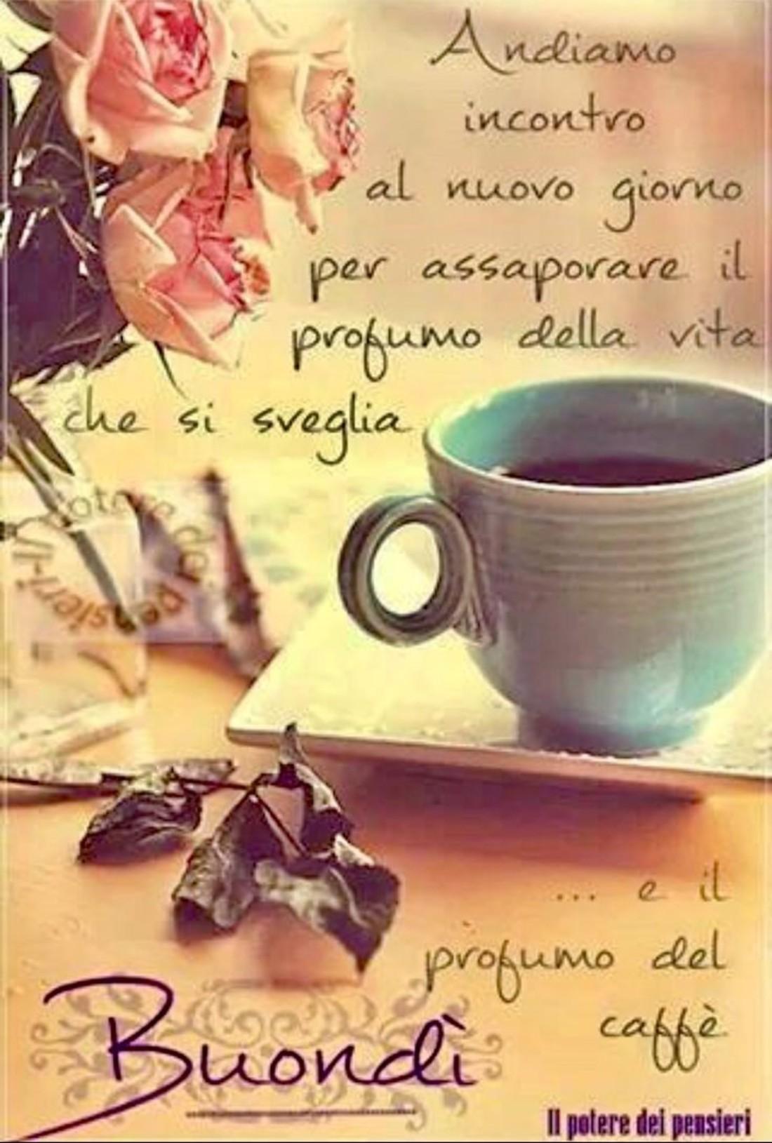 Immagine Buongiorno Tazza Di Caffè Buongiornocolsorrisoit