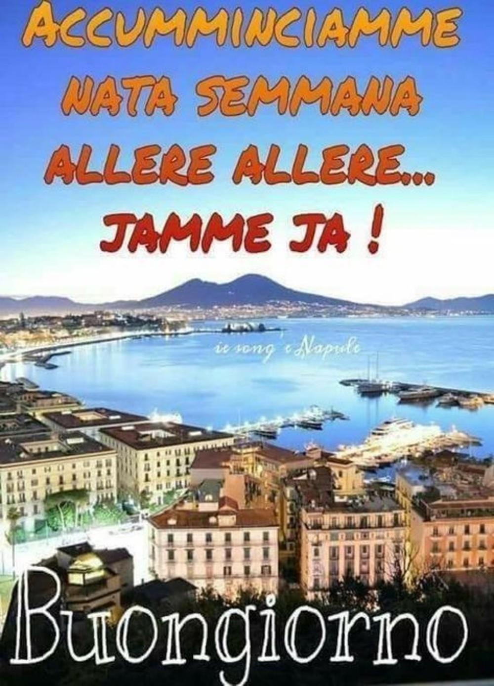 immagini buongiorno Napoli