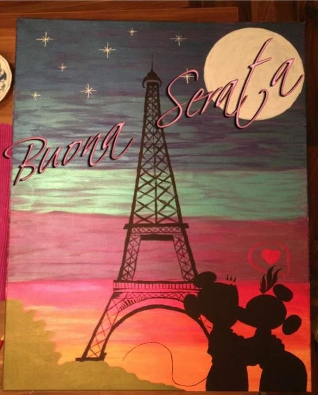 belle immagini buona serata amore parigi