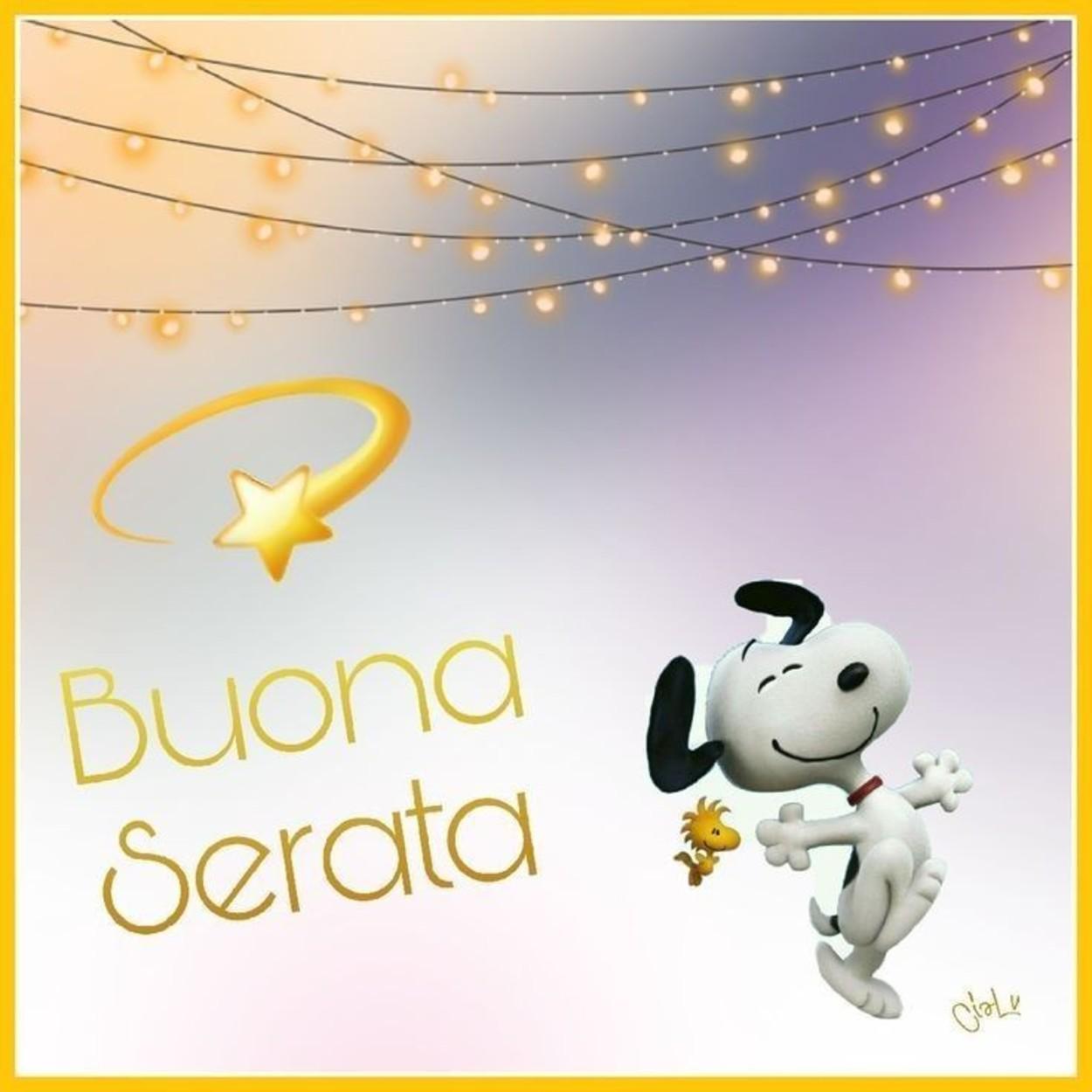 Belle Immagini Buona Serata Snoopy Buongiornocolsorriso It