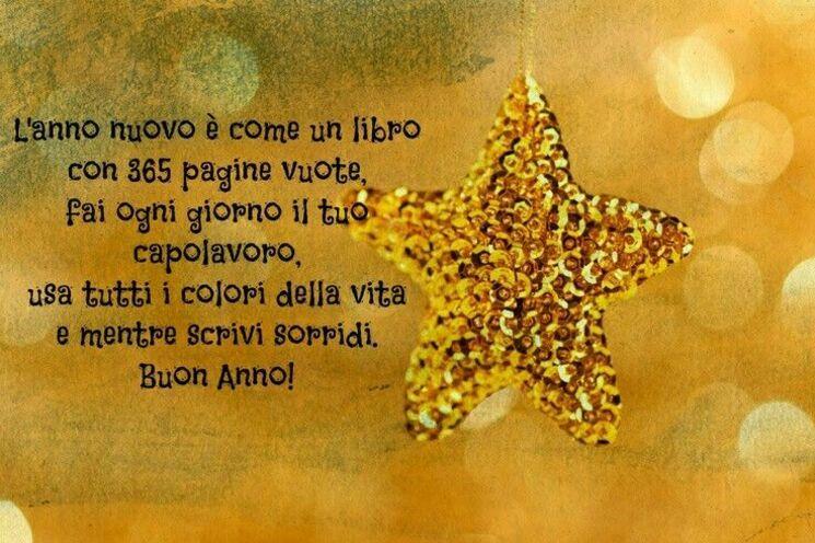bellissime immagini buon anno stelle dorate
