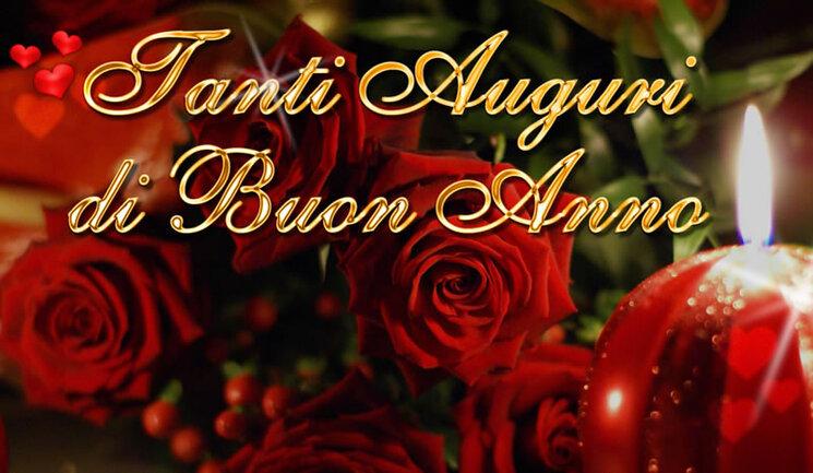buon anno amore mio rose rosse immagini
